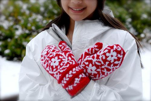 шарени ръкавици